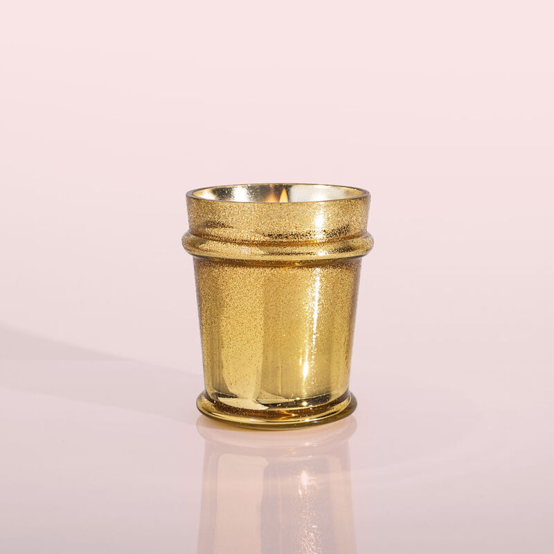 Volcano Glitz Found Glass Candle, 8 oz product with no lid image number 2