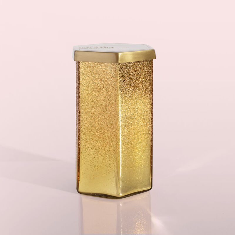 Volcano Glitz Hexagon Candle, 17 oz Product View image number 0