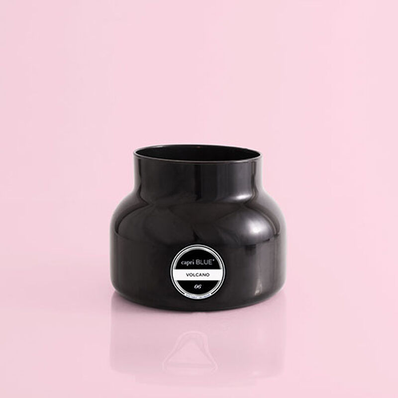 Volcano Black Signature Candle Jar, 19 oz product with no lid image number 1
