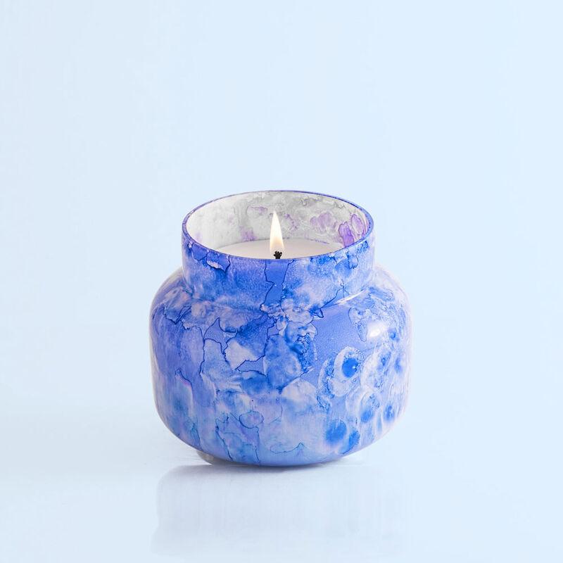 Blue Jean Signature Watercolor Jar, 19 oz product view lit image number 3
