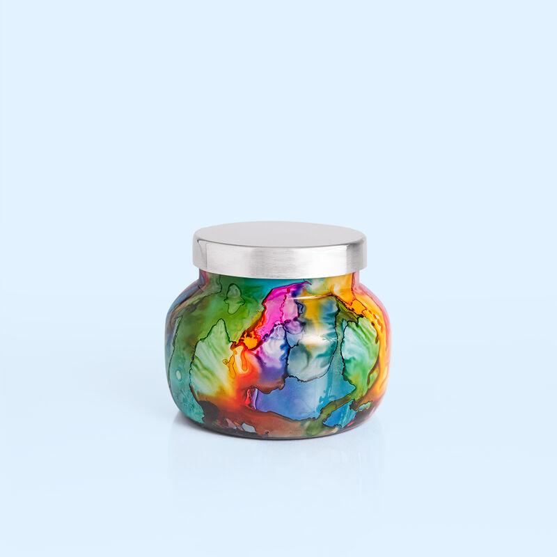 Volcano Rainbow Watercolor Petite Jar, 8 oz product view image number 0