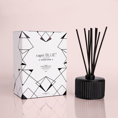 Smoked Clove & Tabac Gilded Reed Diffuser, 7.75 fl oz