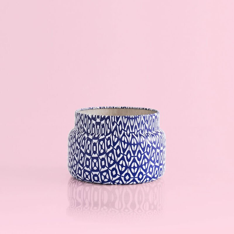 Pomegranate Citrus Printed Candle Tin, 8.5oz no lid image number 3