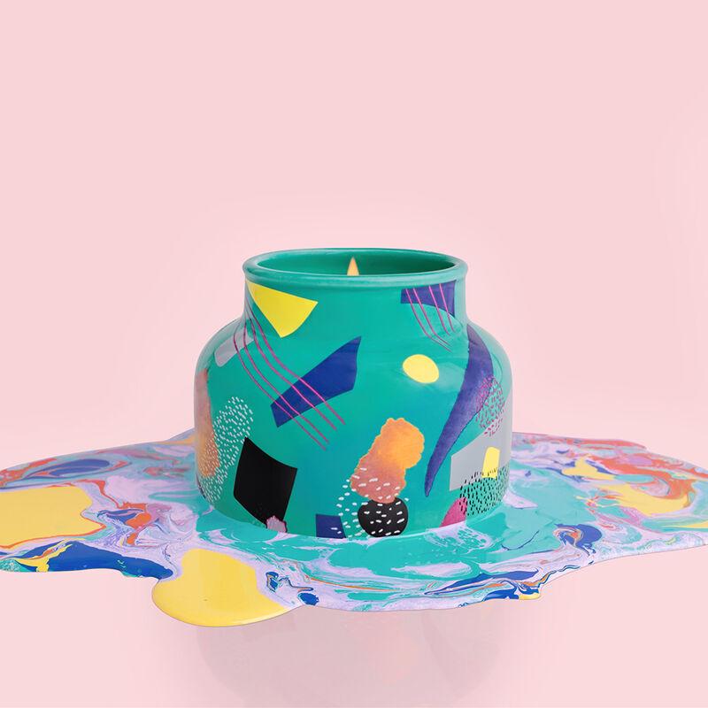 Coconut Santal Gallery Signature Jar, 19 oz product painterly color melt image number 3