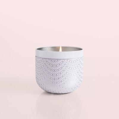 Volcano White Opal Gilded Oversize Candle