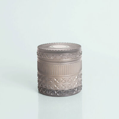 Rain Faceted Candle Jar, 11 oz Candle with Lid Alt Shot