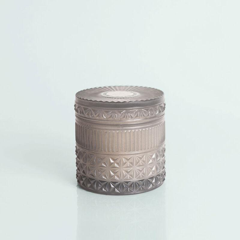 Rain Faceted Candle Jar, 11 oz Candle with Lid Alt Shot image number 1