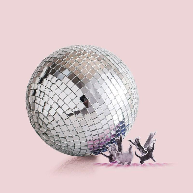 Citrus & Violet Haze Jumbo Gilded Faceted Jar, 30 oz Disco Ball image number 4