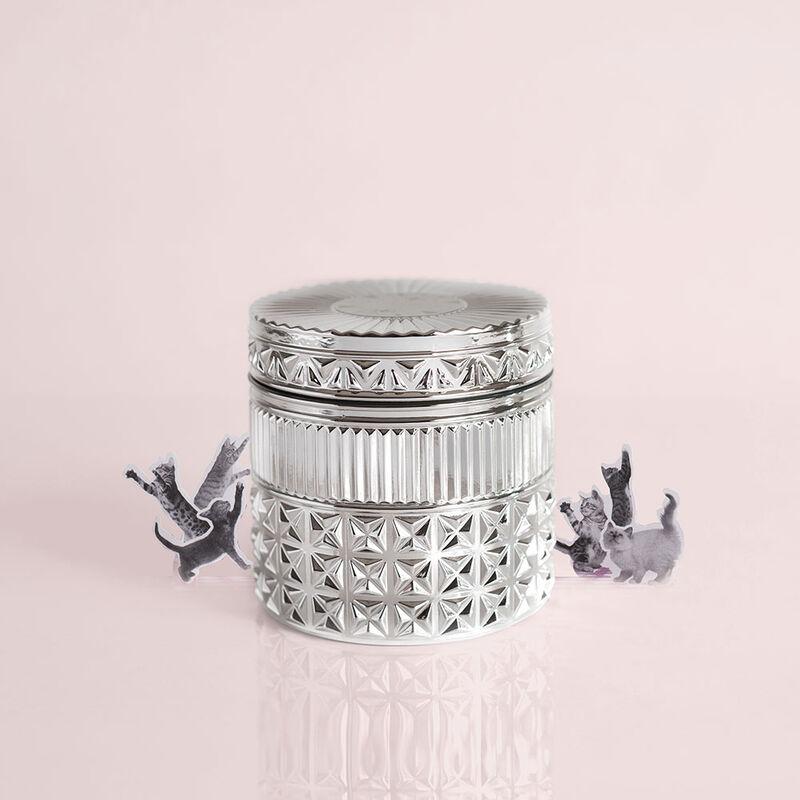 Citrus & Violet Haze Gilded Faceted Candle Jar, 11 oz Surprise and Delight  image number 5