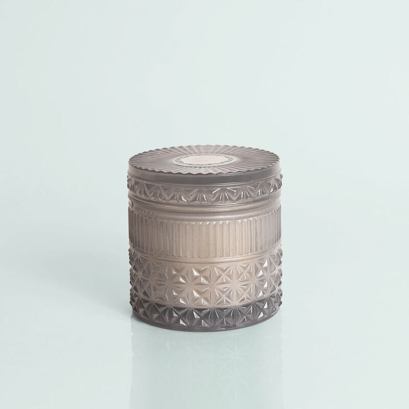 Rain Faceted Candle Jar, 11 oz Candle with Lid image number 0