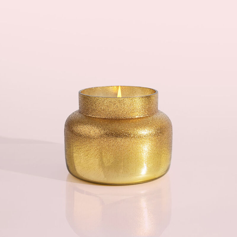 Volcano Glitz Signature Candle Jar, 19 oz product when lit image number 1