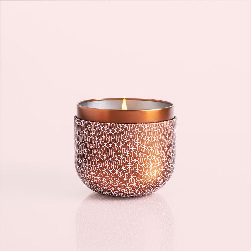 Dark Vanilla & Sandalwood Gilded Candle, 12.5 oz image number 2