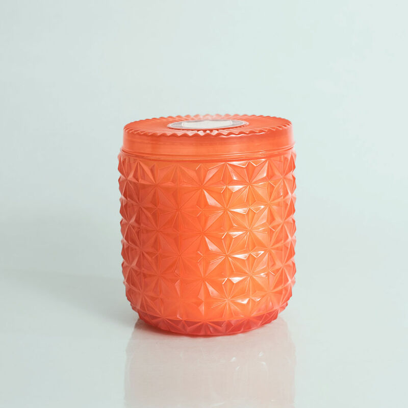Pomegranate Citrus Jumbo Faceted Candle Jar, 30 oz Candle with Lid image number 0