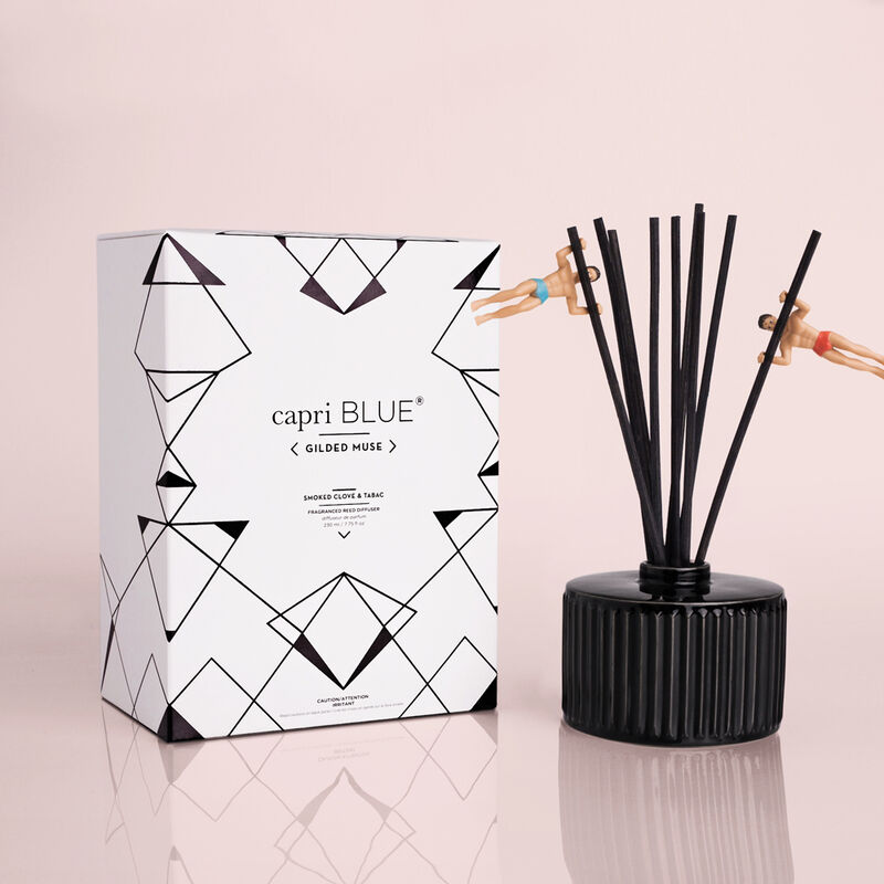 Smoked Clove & Tabac Gilded Reed Diffuser image number 1