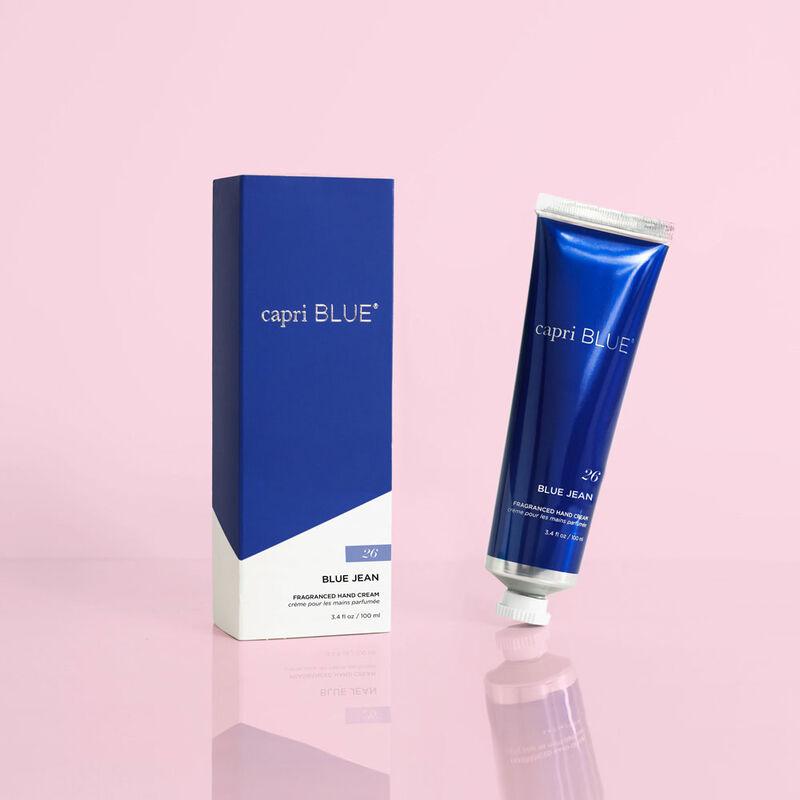 Blue Jean Hand Cream, 3.4 oz tilt with box image number 2