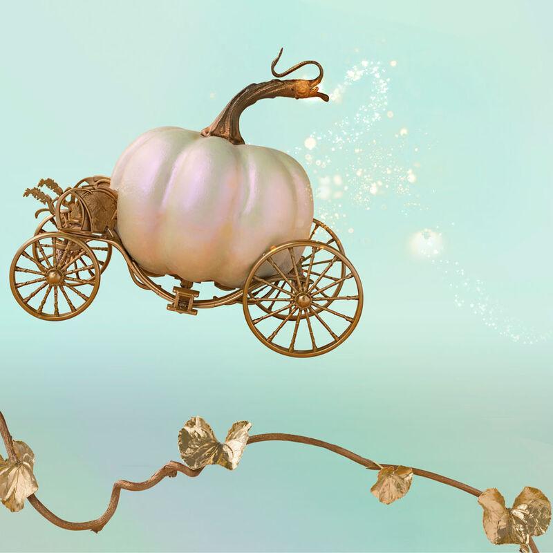 Pumpkin Dulce Glam Jumbo Candle Jar, 48 oz product in fairytale flight image number 1