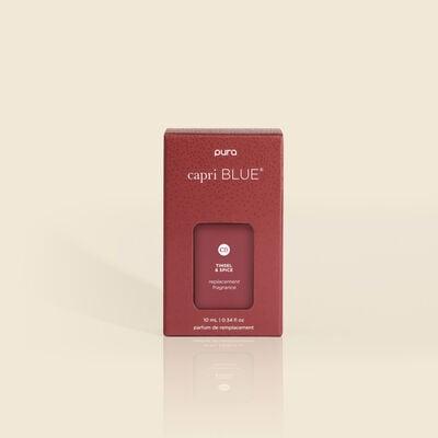 CB+ Pura Diffuser Refill, Tinsel & Spice