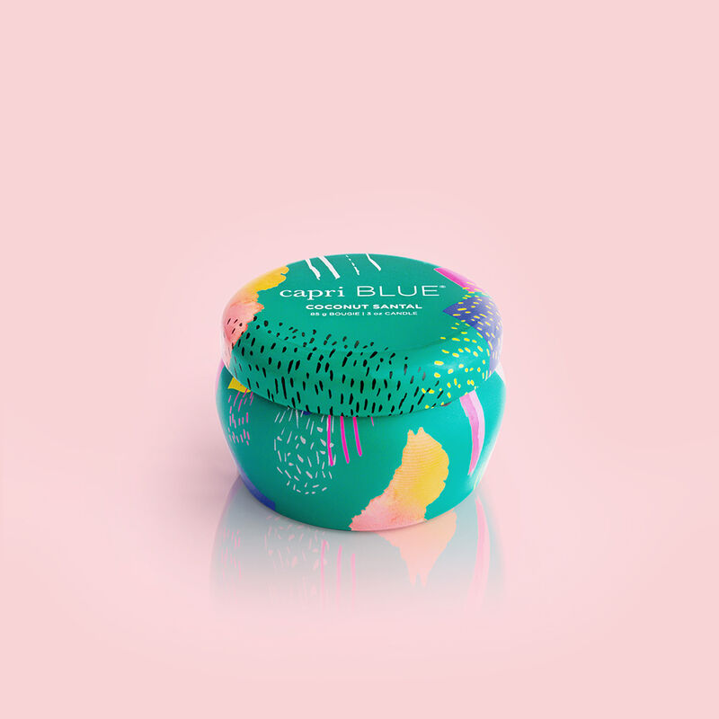 Coconut Santal Gallery Mini Candle Tin, 3 oz product view image number 0