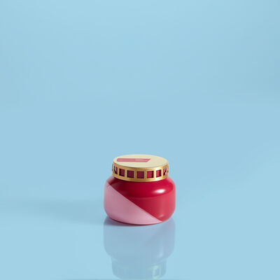 Coconut Santal Dual Tone Petite Jar, 8 oz
