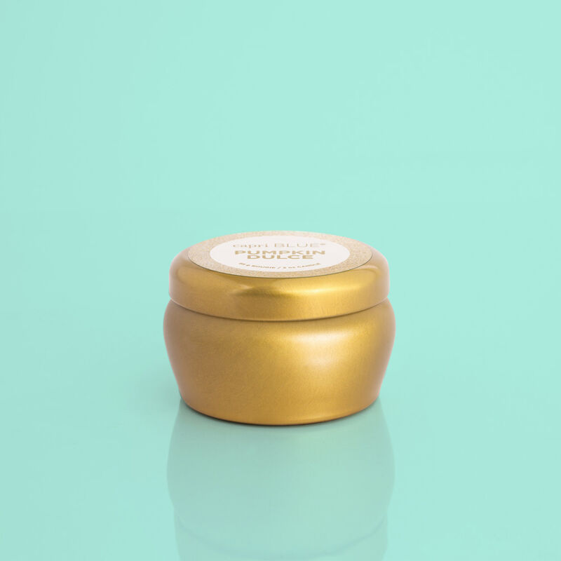 Pumpkin Dulce Glam Mini Candle Tin, 3oz Product View image number 0
