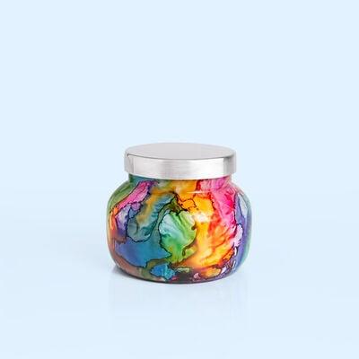 Volcano Rainbow Watercolor Petite Jar, 8 oz alt product view