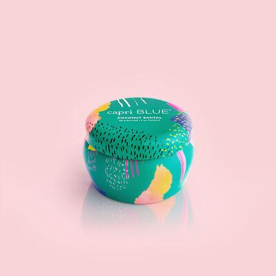 Coconut Santal Gallery Mini Tin, 3 oz