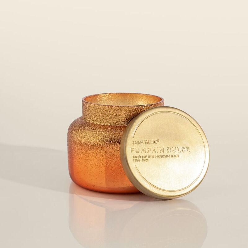Pumpkin Dulce Glitz Signature Candle Jar, 19 oz Alt Product View image number 1