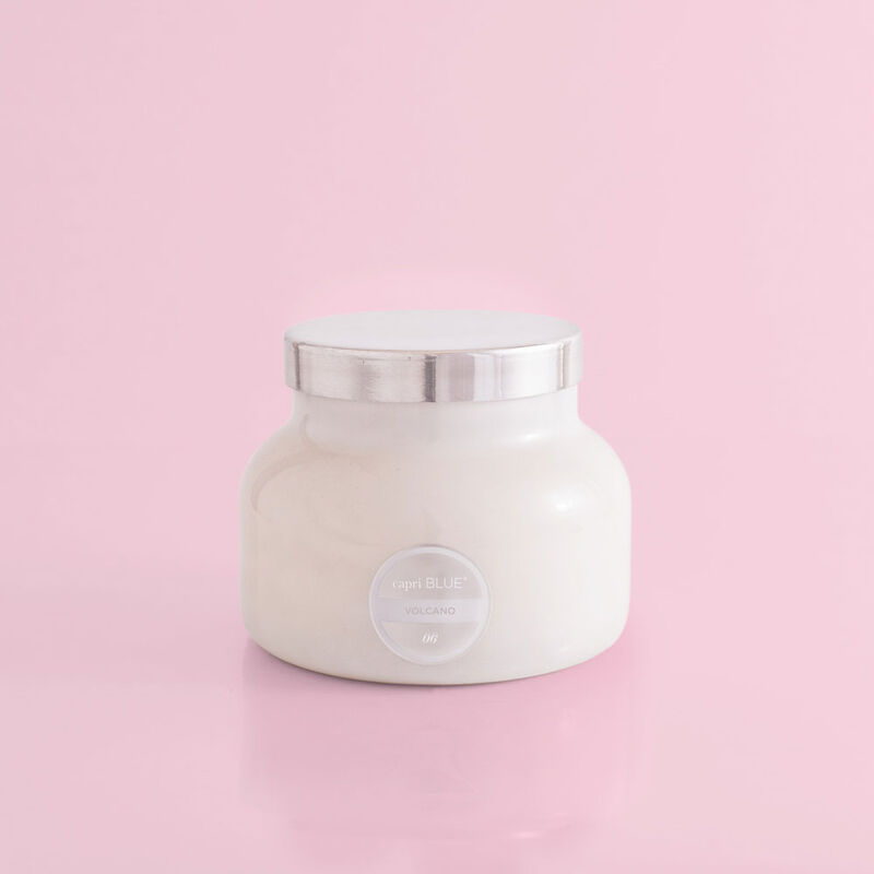 Volcano White Signature Candle Jar, 19 oz product view image number 0