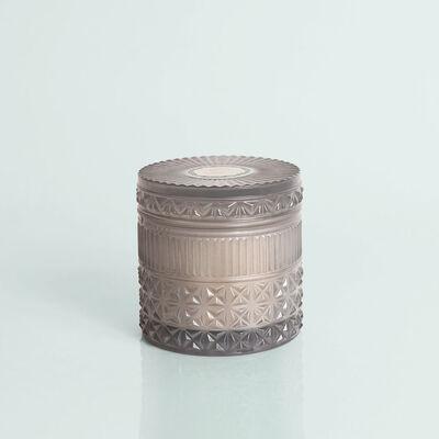 Rain Faceted Jar, 11 oz