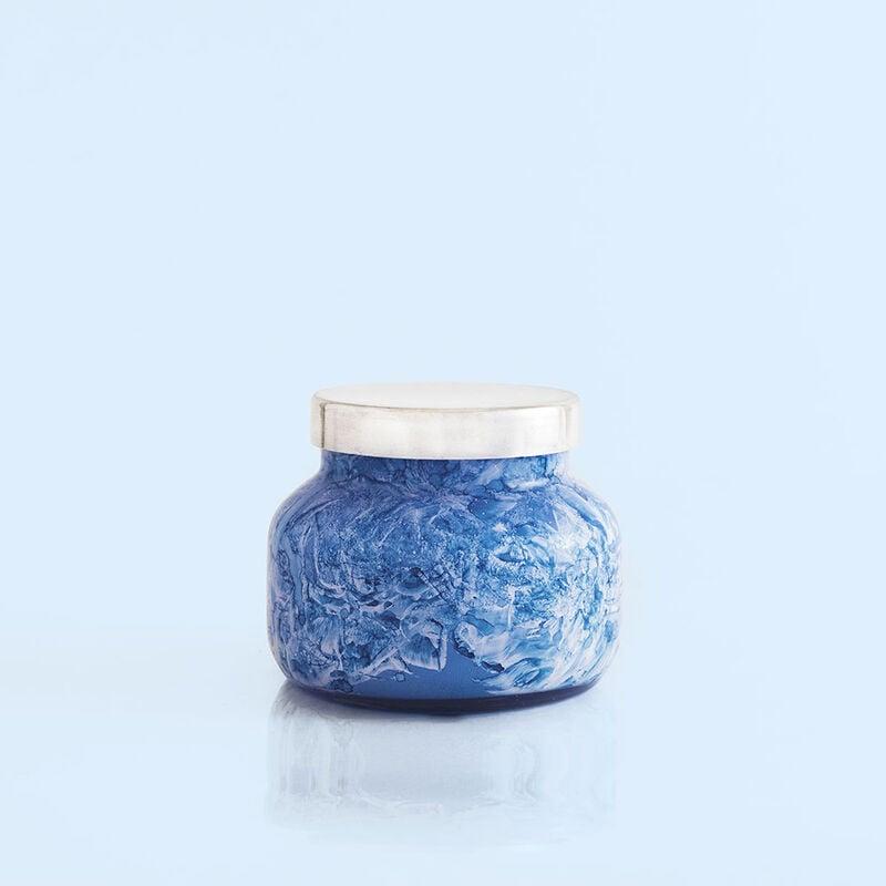 Blue Jean Watercolor Petite Jar, 8 oz alt product view image number 2