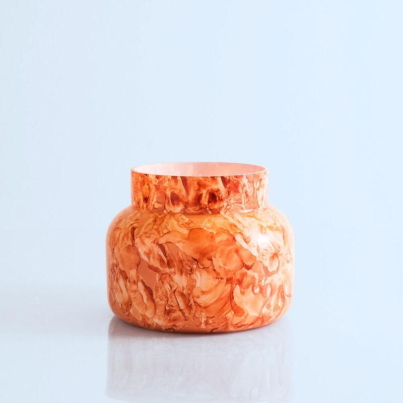 Pomegranate Citrus Watercolor Signature Jar, 19 oz product without lid image number 1