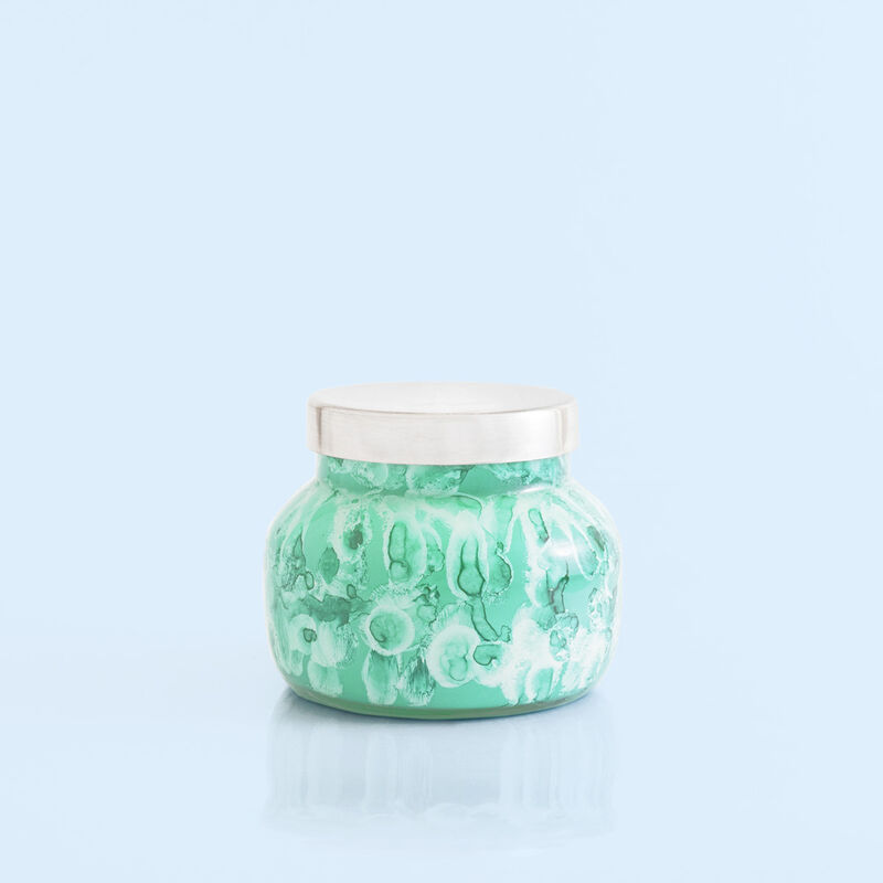 Volcano Watercolor Petite Candle Jar, 8 oz alt product view image number 1
