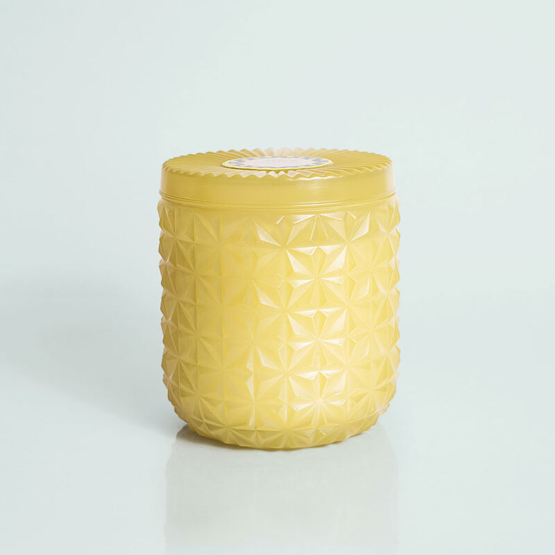 Aloha Orchid Jumbo Faceted Candle Jar, 30 oz image number 0