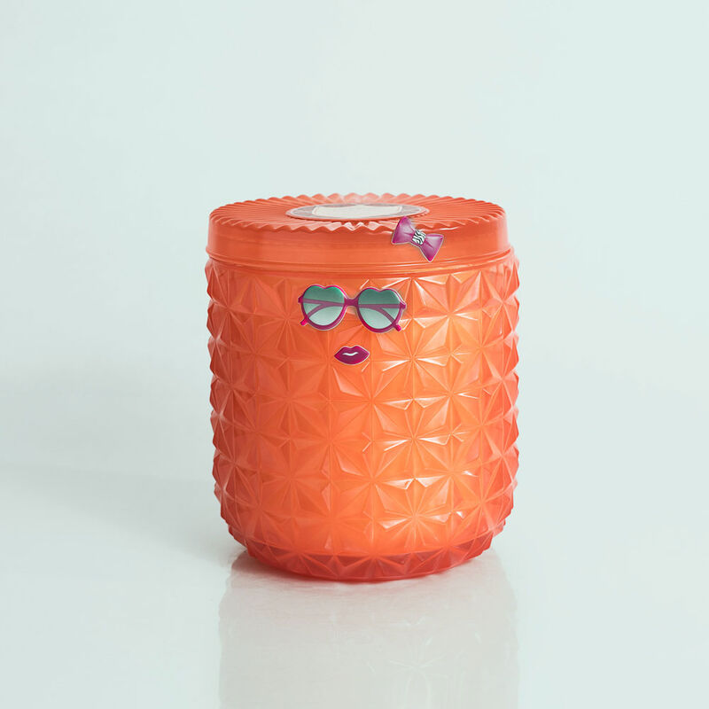 Pomegranate Citrus Jumbo Faceted Candle Jar, 30 oz Candle Surprise image number 4