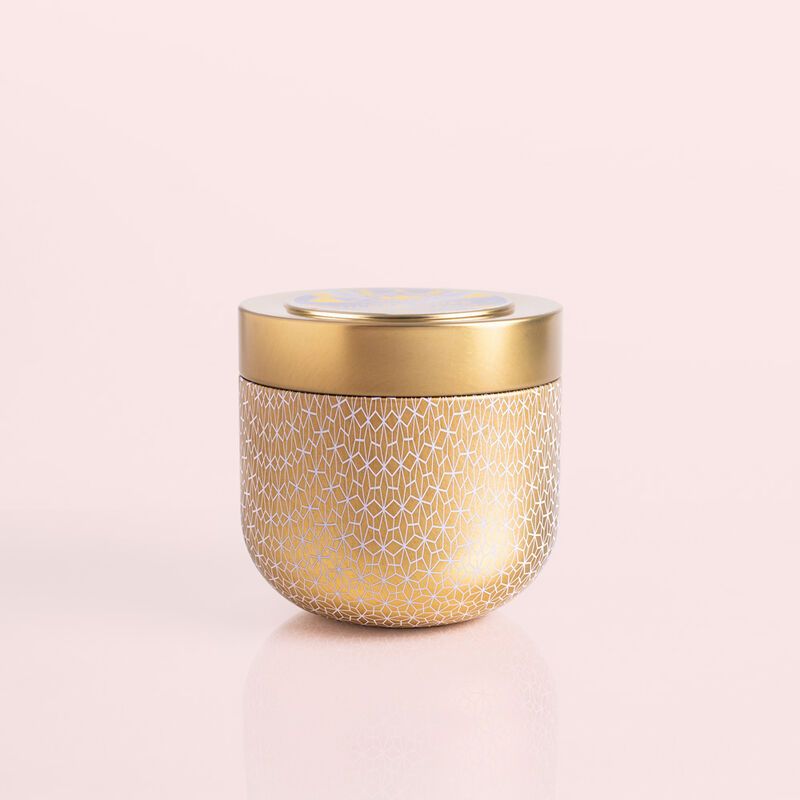 Exotic Blossom & Basil Gilded Tin, 12.5 oz Product View image number 0