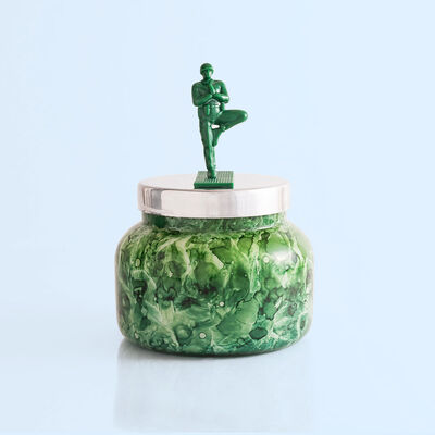 Cactus Flower Watercolor Signature Jar, 19 oz product with toy