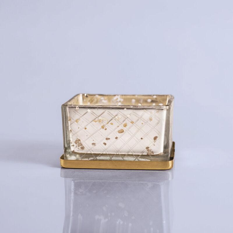Paris Mercury Jewel Box Candle, 4oz with No Lid image number 6