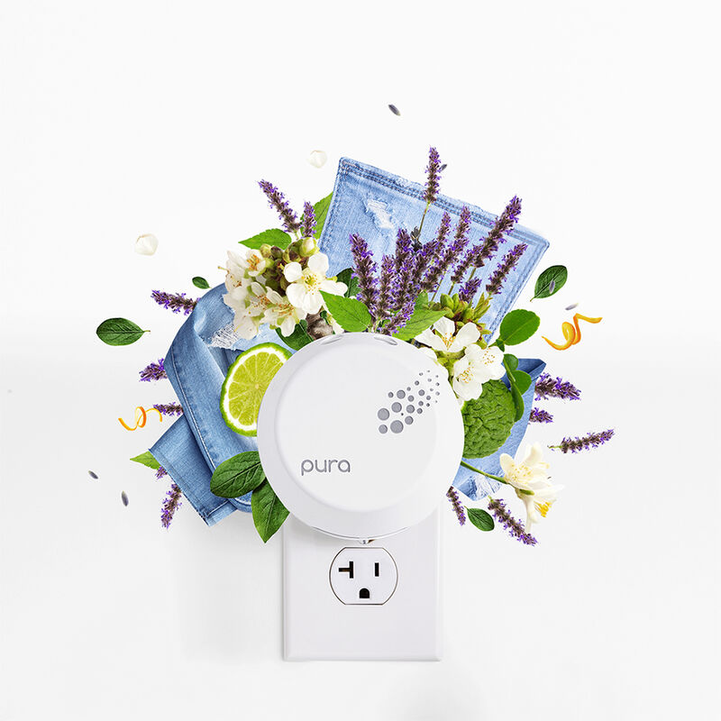 CB+ Pura Diffuser Refill, Blue Jean Fragrance Notes with Pura Device image number 3